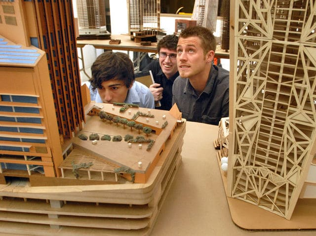 Architect Student architect students and modular building