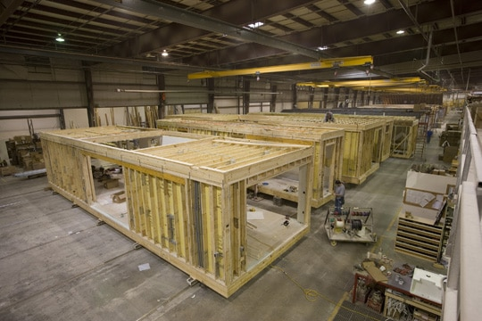 Exploration of Modular Manufacturing Capacity for Northeast US Commercial Construction