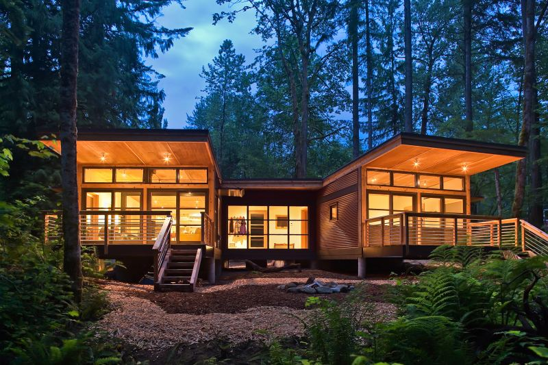 Modular Homes Set Right Tone For
