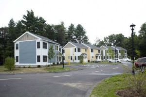 acton housing authority LEED Gold modular building project