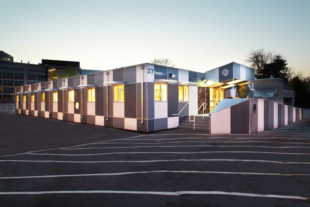 Check out Harvard's Green Modular Daycare Center