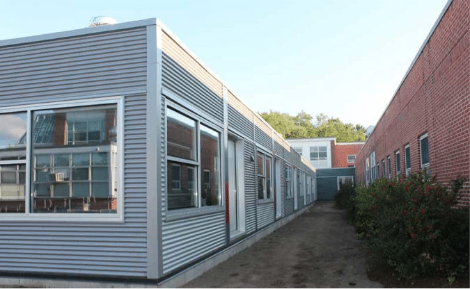 lexington high school modular building