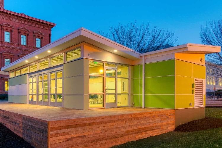 Modular Green Classroom : About triumph modular custom buildings