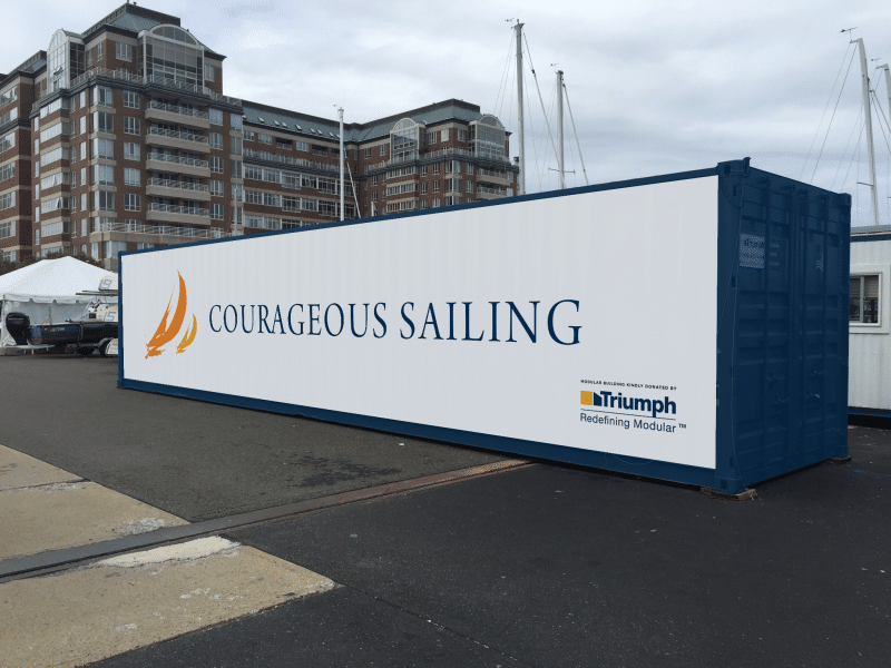 Education: Triumph Modular Supports Courageous Sailing