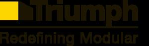 redefining modular triumph logo