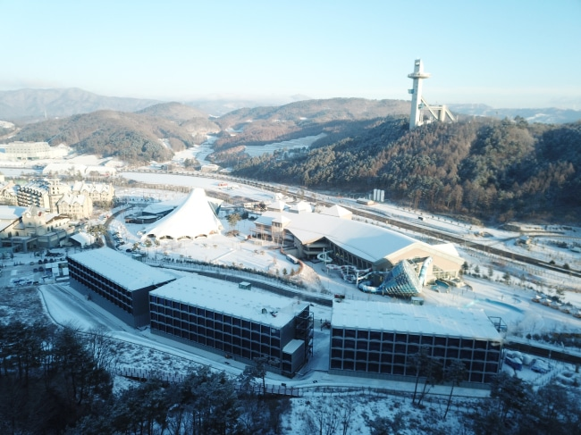 Pyeongchang Olympic Media Residence Modular Hotel