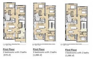triple decker floor plan