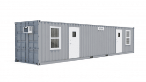 40' all office container